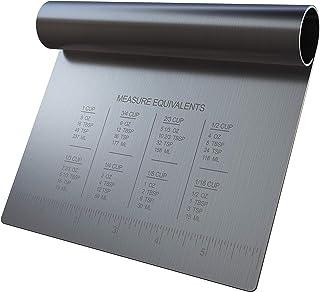 Hearthy Home - سوهان مخصوص نیمکت برای پخت - خمیر سوهان - از ابزار آشپزخانه چند منظوره می توان به عنوان سوهان نان ، چاقوی نیمکت برای پخت ، چاقوی دوغ ، خراش مواد غذایی ، سوهان مخصوص سفره یا خراش قنادی استفاده کرد.