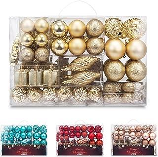 Best shatterproof ornaments gold Reviews