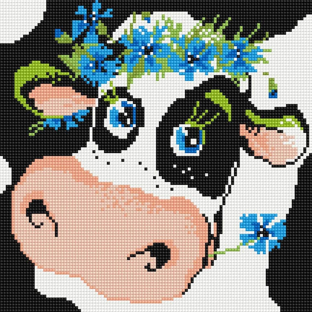 Generic Brands All items free shipping LukFun Diamond Painting Kits DIY Kids for Max 73% OFF Cow 5D