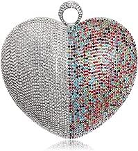 Best multi coloured glitter clutch bag Reviews