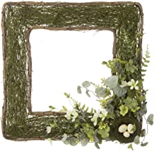 Darice 30071830 Flower Frame, 21-inch Square, Green