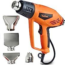 VonHaus 2000W Heat Gun – Remove Paint, Varnish, Dissolve Adhesives, Shape Plastic Tubing & More – 2 Heat Settings: 350°C & 550°C – for DIY, Home Improvement & Restoration