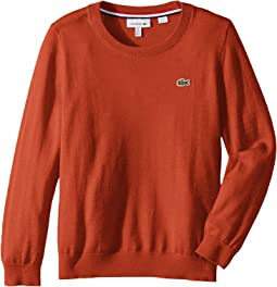 Long Sleeve Crewneck Sweater (Toddler/Little Kids/Big Kids)