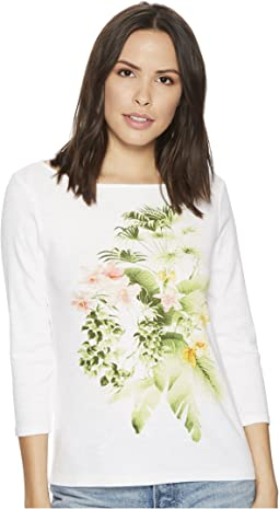 Tommy Bahama - Queen Palms 3/4 Sleeve Tee