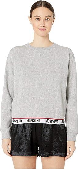 Sweatshirt w/ Moschino Band