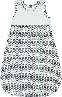 Sweety Fox 2.5 TOG Babysovsäck, 110 cm, blå – sovsäck baby 18-36 månader – inlindningsväska med ekologisk bomull – babyklä...