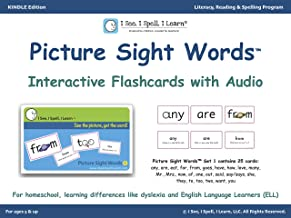 Picture Sight Words™ Flashcards with Audio - Set 1: I See, I Spell, I Learn® - Literacy, Reading & Spelling Program