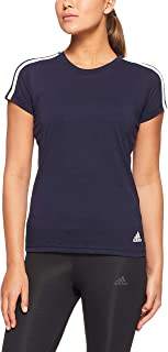 Adidas Women's Essentials 3-Stripes Slim T-Shirt