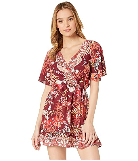 828b6e6d475 Angie V-Neck Short Sleeve Dress at 6pm