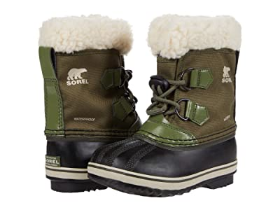 SOREL Kids Yoot Pactm Nylon (Toddler/Little Kid) (Hiker Green) Kids Shoes