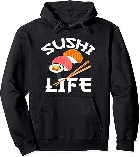 Sushi Hoodie Anime Sushi Life Japanese Food Lover Gift