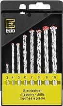 Brocas em jogo com 8 peças vidia, Eda, 5TW, Preto