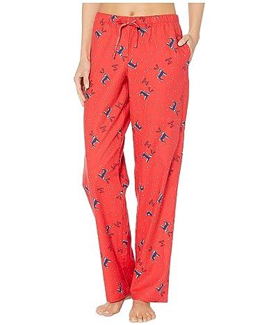 Life is Good Classic Sleep Pants (Americana Red 2) Women