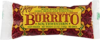Amy's Southwestern Burrito, Made with Organic Corn, Beans and Tomatoes, Non GMO, 5.5-Ounce
