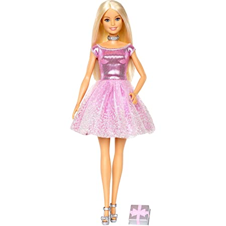 Mattel Barbie Happy Birthday Doll And Accessory (GDJ36)