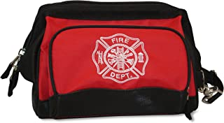 Lightning X Fireman's All-Purpose Wide Mouth Toiletry/Personal Tool Bag for Shift Firefighter w/Maltese Cross