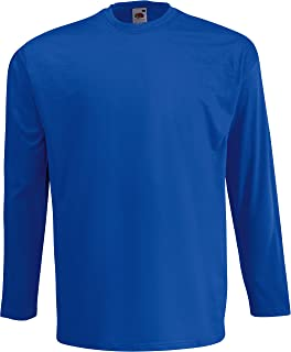 Fruit of the Loom Value Weight LS T Camiseta para Hombre