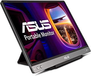 """ASUS ZenScreen 14"""" 1080P Portable Monitor (MB14AC) - Full HD, IPS, Built-in Battery, Eye Care, Foldable Smart Case, USB-C ..."""