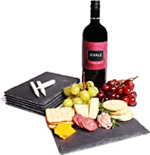Slate Cheese Board, Charcuterie Boards (6 x 0.1 x 8.75 In, 6 Pieces )