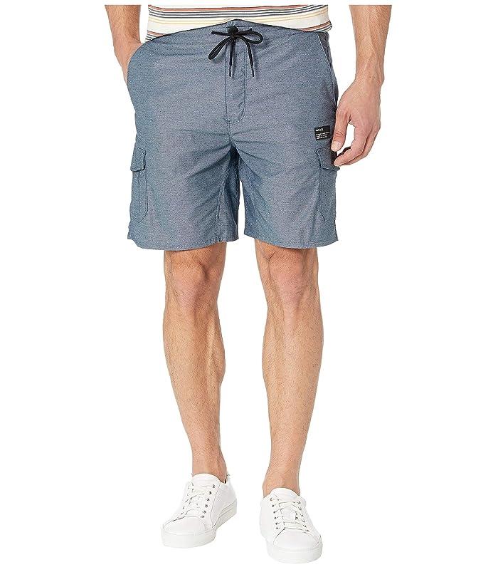 Hurley 19 Dri-Fit Breathe Cargo Shorts (Obsidian) Men
