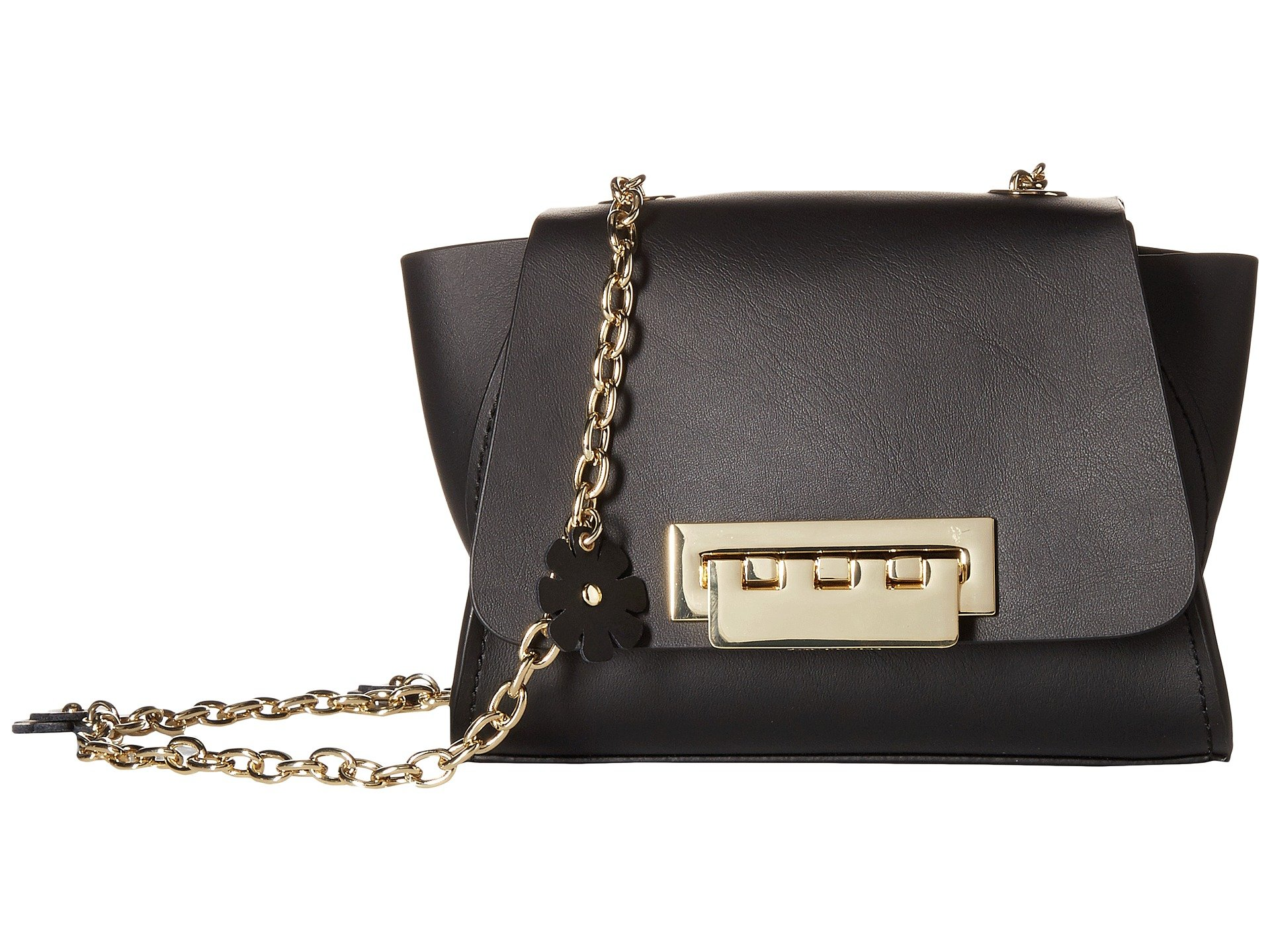 Eartha Iconic Floral Mini Chain Crossbody with Floral Chain