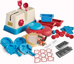 FAO Schwarz Deluxe Chocolate Candy Maker Station Toy Set, Craft Delicious Sweets W/ A Variety of Silicone Molds, Create Bonbons, Truffles, Bars, Or Animal/Star Shapes W/ Squeezer Bottle, Easy Clean