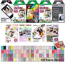 FujiFilm Instax Mini 9 Instant Film Holiday Special Bundle - 110 Prints
