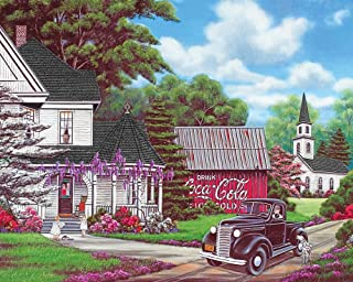 Springbok Puzzles - Coca-Cola Country - 1000 Piece Jigsaw Puzzle - Large 24 Inches by 30 Inches Puzzle - Made in USA - Uni...