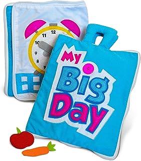 comprar comparacion Curious Columbus My Big Day Quiet Book Juguetes educativos para niños pequeños y preescolares. El Mejor Libro de Actividad...