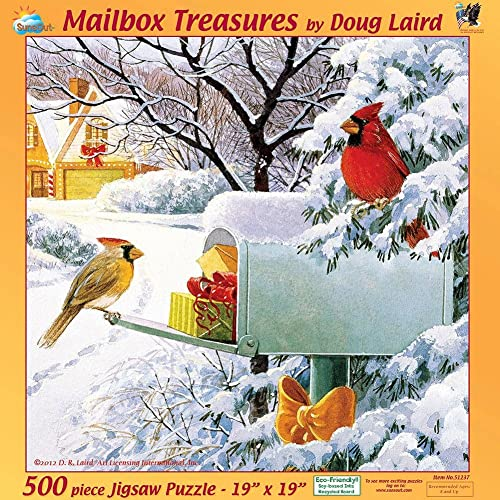 en linea Mailbox Treasures a 500-Piece 500-Piece 500-Piece Jigsaw Puzzle by Sunsout Inc. by SunsOut  calidad garantizada