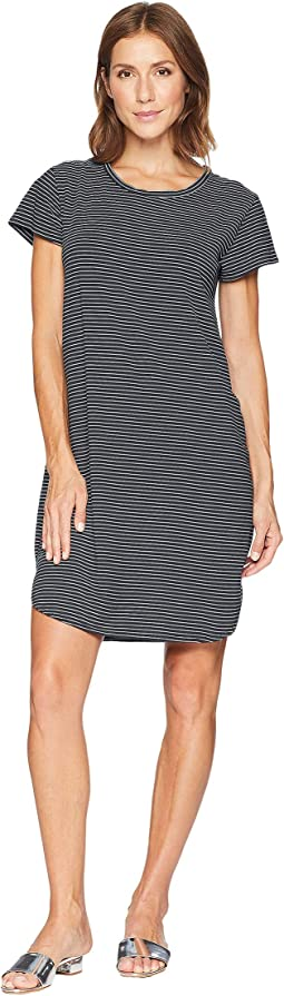 Pinstripe Kylie T-Shirt Dress