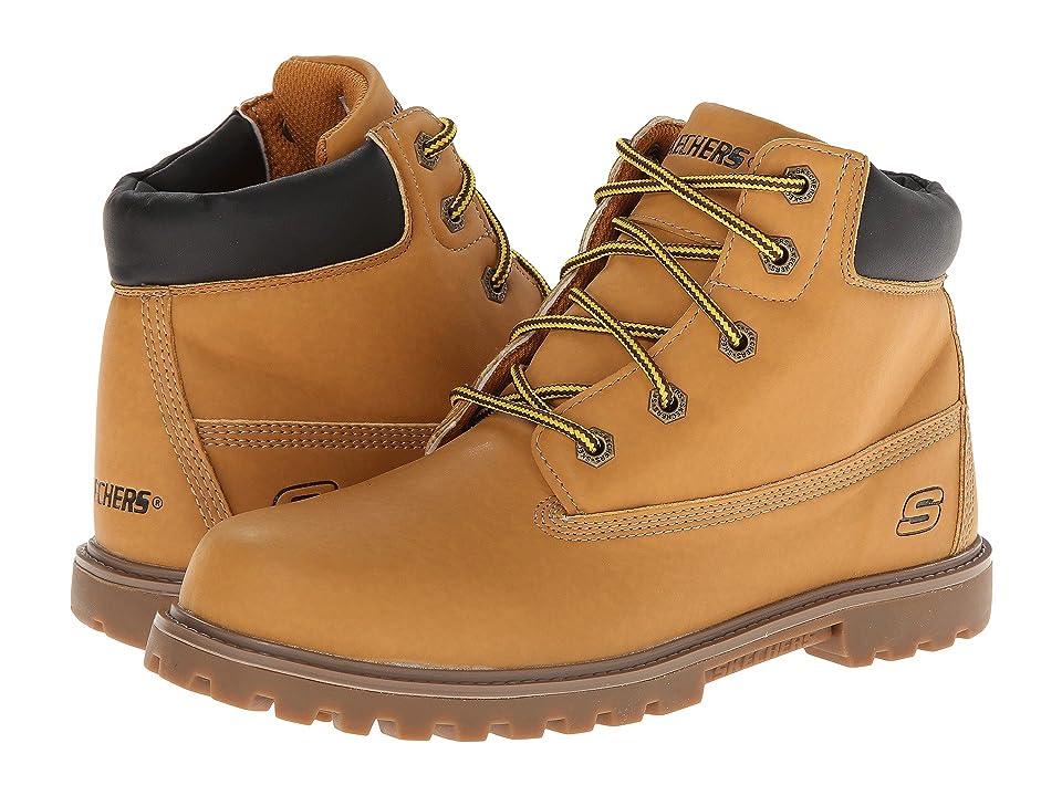 SKECHERS KIDS Mecca Bunkhouse 93158L (Little Kid/Big Kid) (Wheat/Tan) Boys Shoes