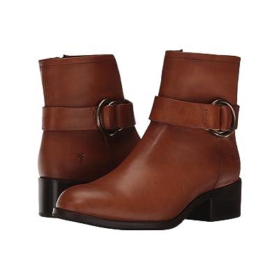 Frye Kristen Harness Short (Brown Smooth Vintage Leather) Women