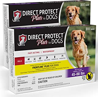 Direct Protect Plus 6 Month Supply, Large