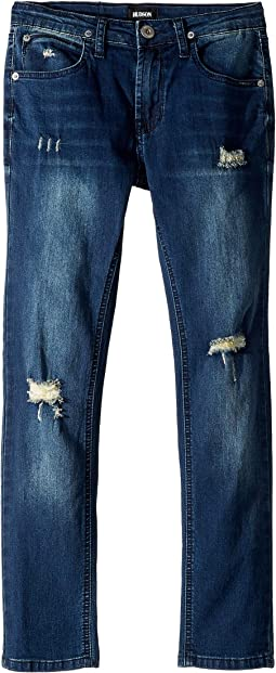 Jude Skinny French Terry Jeans in Remake (Big Kids)