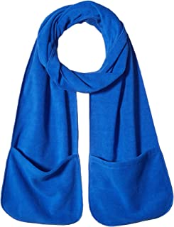 Clementine Apparel Men's Clm-sm-fs06-extra Long Fleece Scarf with Pockets (6 Pk)