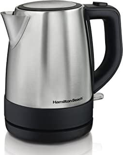 Hamilton Beach Electric Tea Kettle, Water Boiler & Heater, 1 L, Cordless,..