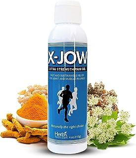 Extra Strength Pain Relief Gel 4 Oz - Muscle Pain Relief - Shoulder Pain Relief - Joint Pain Relief - Massage Gel - Herbal...