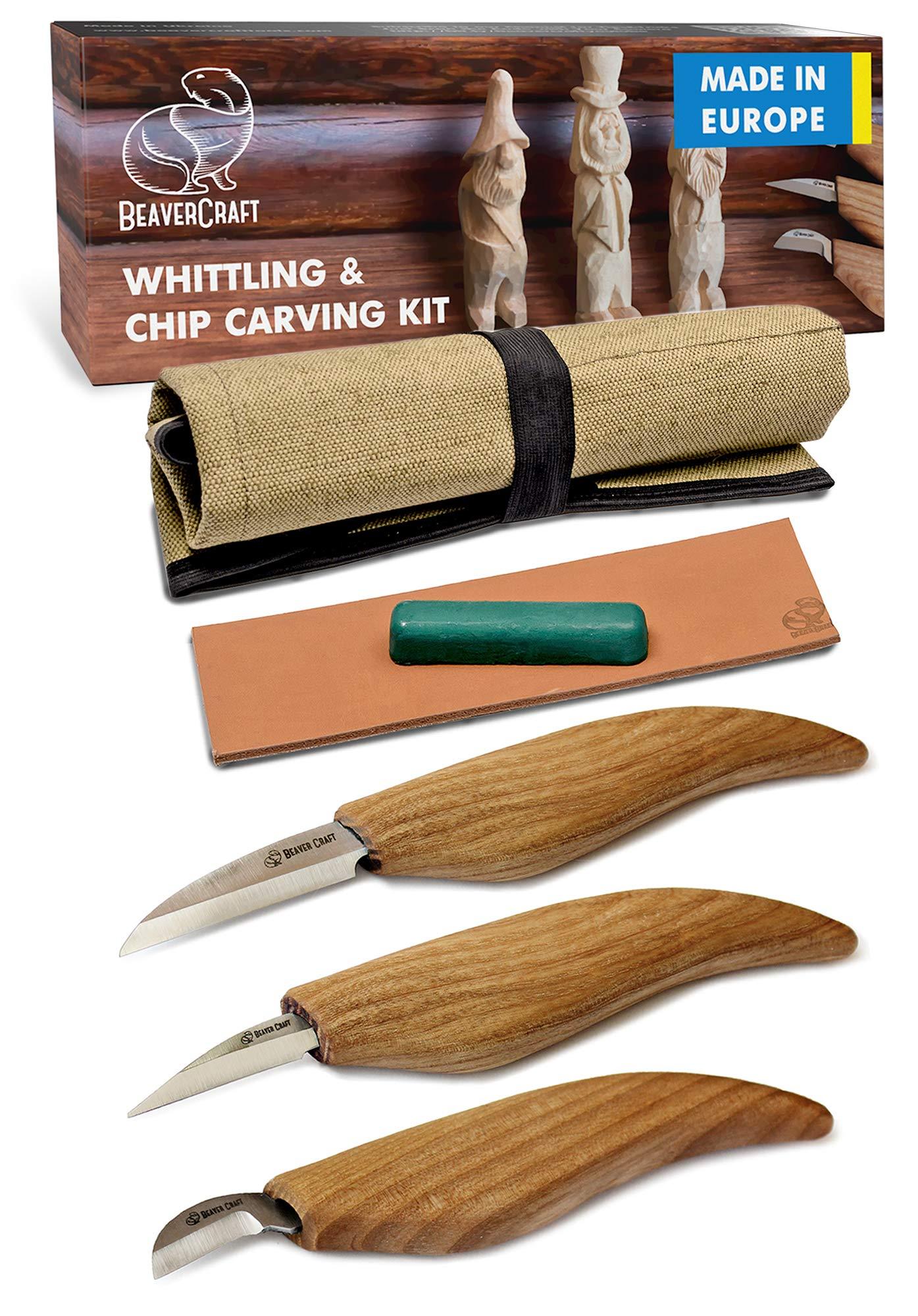 BeaverCraft S15 Whittling Wood Carving
