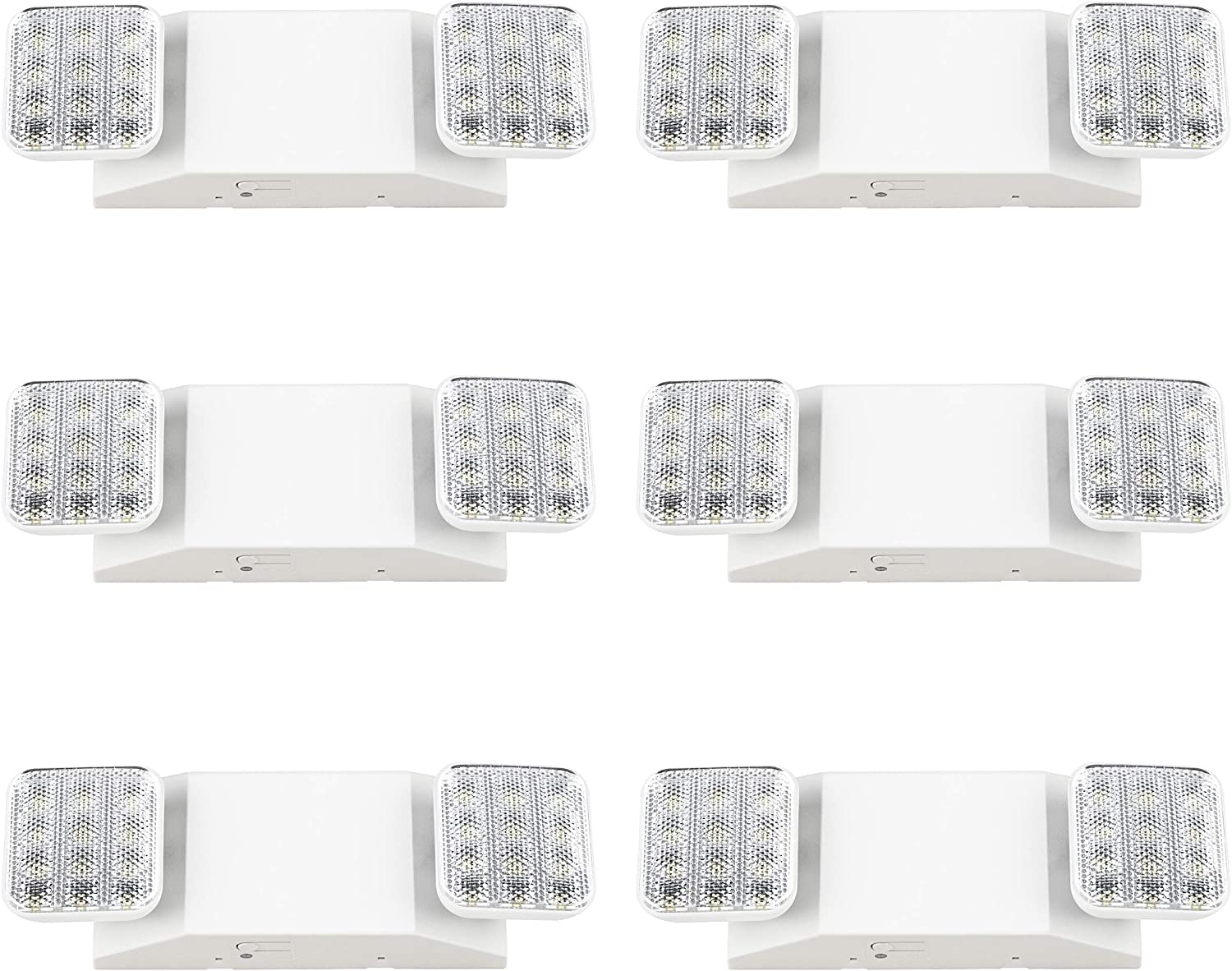 Sunco Lighting 6 Pack LED 新生活 Two 限定Special Price Fixture Light Flood Emergency