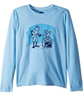 Jake and Rocket Acoustic Crusher T-Shirt Long Sleeve (Little Kids/Big Kids)