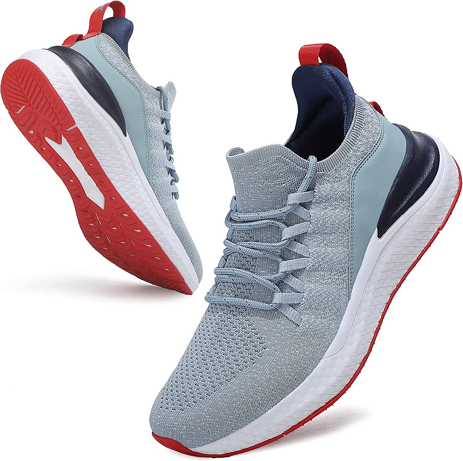 Axcone Mens Running Max 55% OFF Shoes for Gym Wor Manufacturer regenerated product Travel Work Jogging Tennis