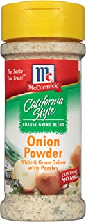 McCormick California Style Coarse Grind Blend Onion Powder, 2.62 Ounce