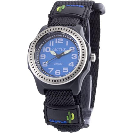 [カクタス] キッズ腕時計 CAC-45-M03 正規輸入品 ブラック