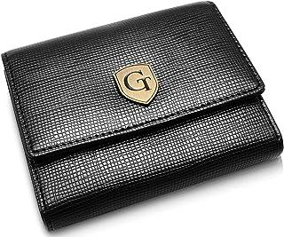 GenTo® PARIS Pequeña billetera para damas con protección RFID - Pequeña billetera con muchos compartimentos - Regalo para ...
