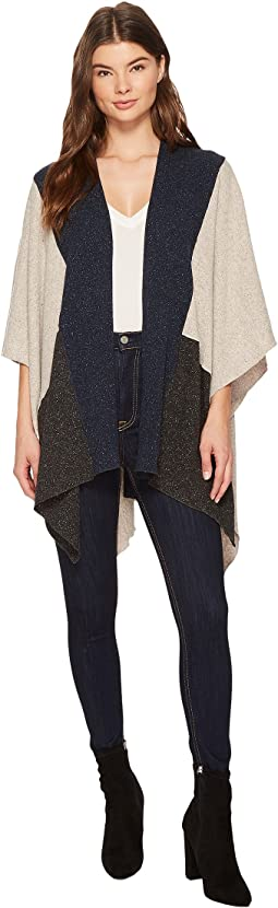 Three Dots - Donegal Sweater Poncho