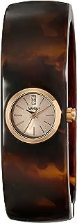 Caravelle New York Women's 44L139 Analog Display Japanese Quartz Brown Watch