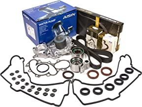 Evergreen TBK271MVCA2 Fits Toyota Pickup 3.4 DOHC 5VZFE Timing Belt Kit Valve Cover Gasket AISIN Water Pump