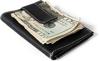 RFID Money Clip Wallet for Men - Slim Front Pocket Wallet Leather Money Clip