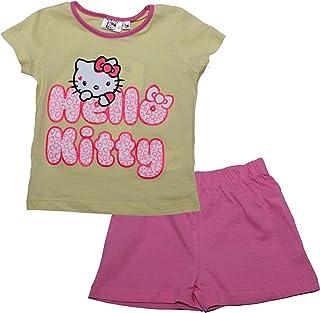 Hello Kitty Girls Sleeveless T-Shirt//Top /& 3//4 Leggings Set